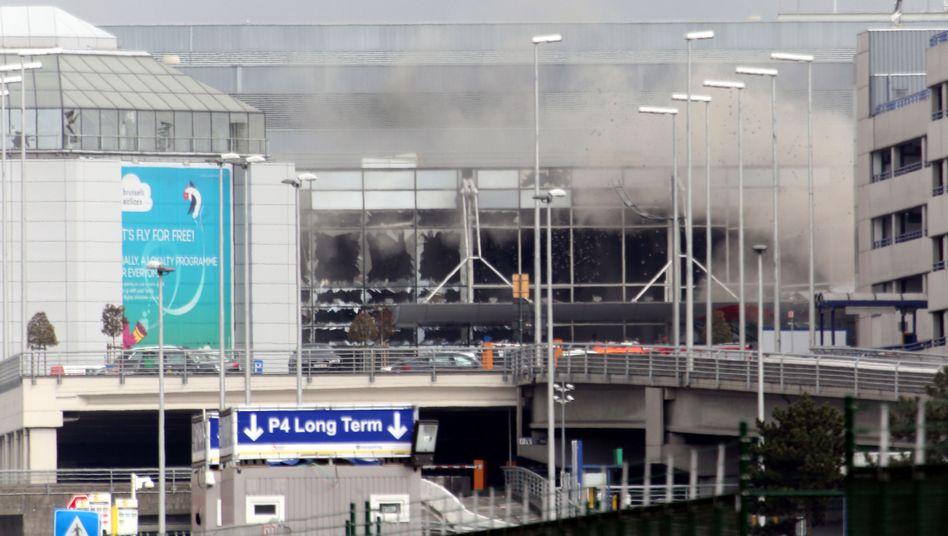 Anschlagsort Flughafen Brüssel-Zaventem