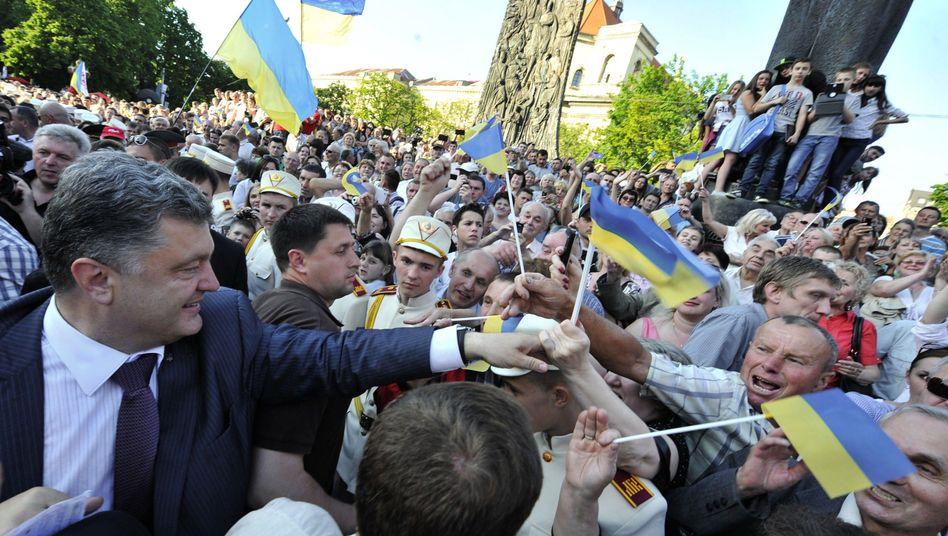 Topkandidat Poroschenko: Gutes Ergebnis am Sonntag erwartet