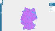 Deutschlandkarte der Funklöcher ist online