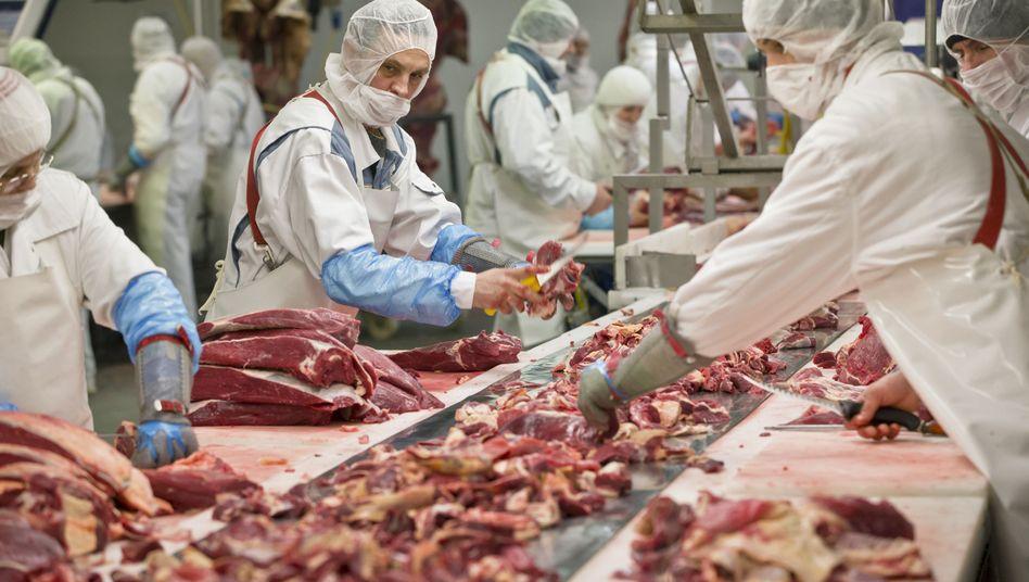 Schlachtereibetrieb in Rumänien: 2500 Tests noch im März?