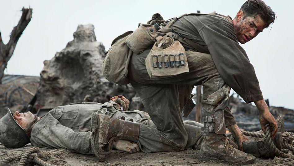"""""""Hacksaw Ridge"""" von Mel Gibson: Superchrist geht durch die Hölle"""