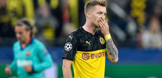 Marco Reus fehlt Borussia Dortmund auf unbestimmte Zeit