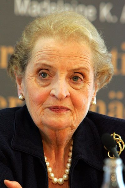 """Albright: """"Es darf kein Zögern geben"""""""