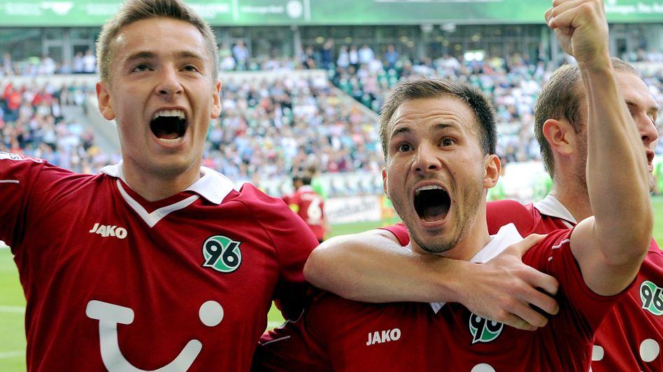 Hannover-Profi Huszti (Mitte): Vier Vorlagen gegen Wolfsburg