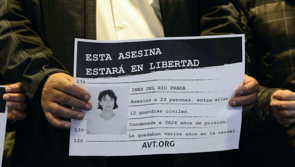 Eta-Separatistin Ines del Rio: Kommt auf freien Fuß