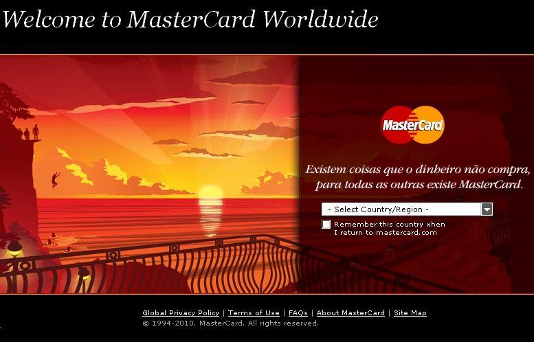 SCREENSHOT Mastercard