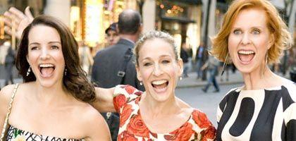 Offen gestanden: Kristin Davis, Sarah Jessica Parker und Cynthia Nixon sind die Cinderellas des 21. Jahrhunderts