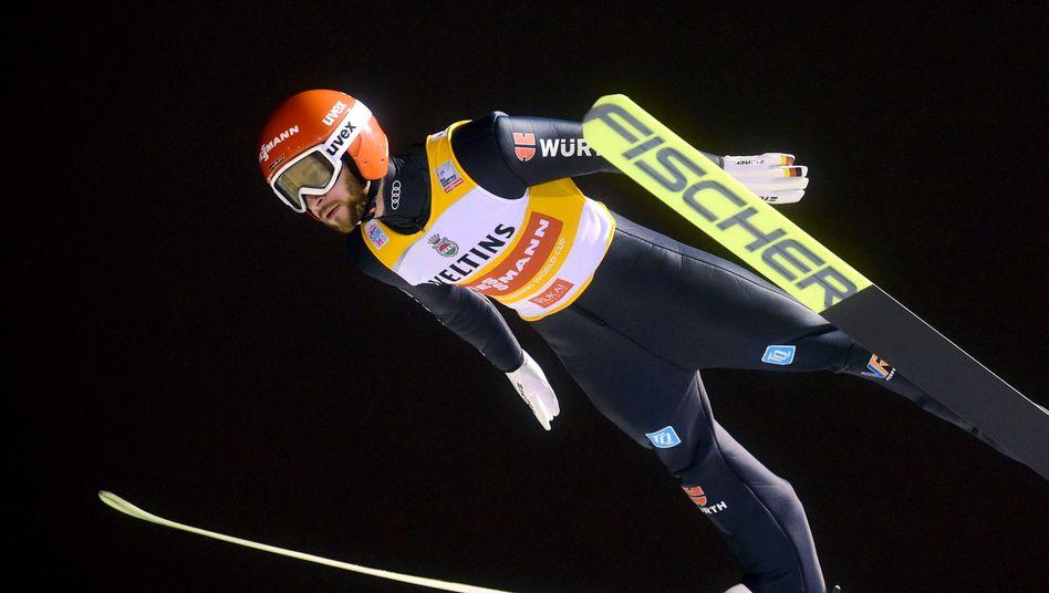 Markus Eisenbichler zählt bei der Vierschanzentournee zu den Favoriten auf den Titel