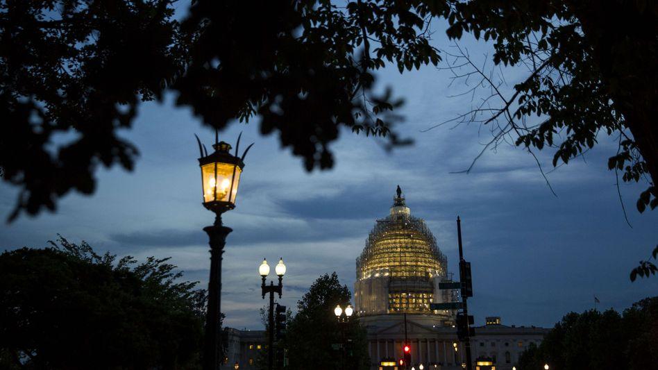 Kapitol in Washington: Sondersitzung des Senats brachte keine Einigung