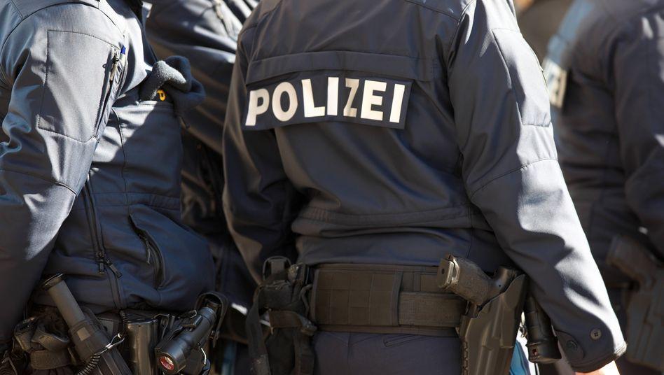 Bayerische Polizisten (Symbolbild)