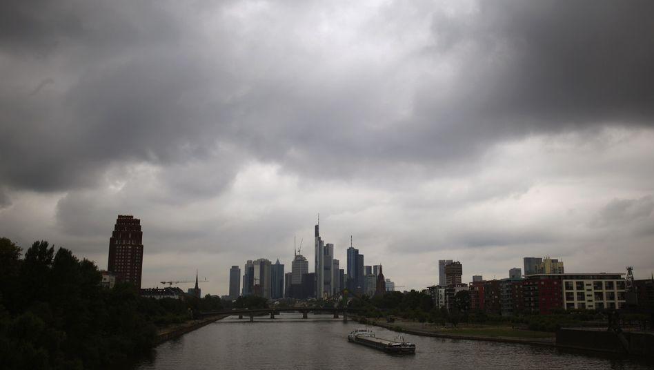 """Bankenstadt Frankfurt am Main: """"Lage in Europa bleibt angespannt"""""""
