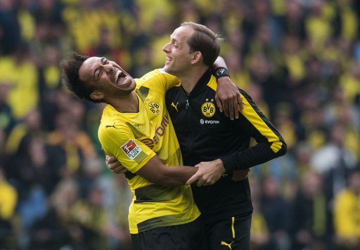 Mit dem BVB wurde Tuchel 2017 Pokalsieger