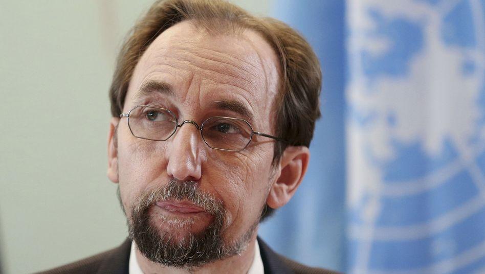 Uno-Hochkommissar für Menschenrechte, Said Raad al-Hussein