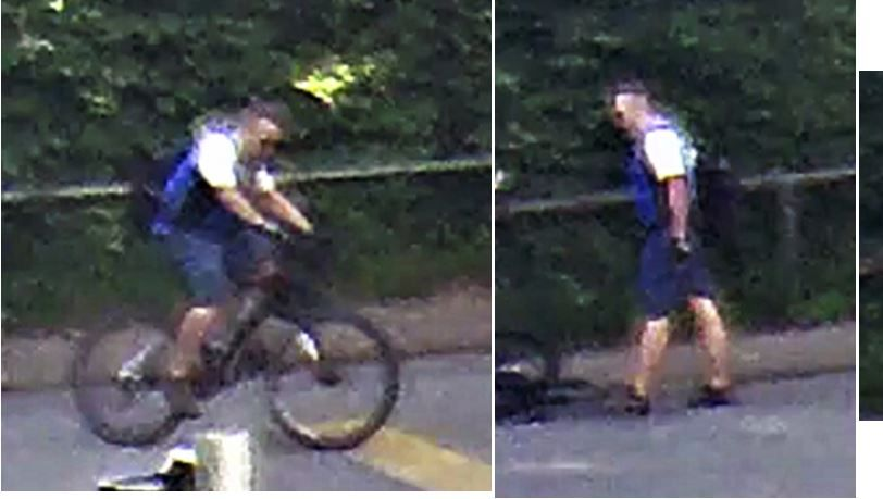 """Die Polizei beschreibt den gesuchten Mann als """"stämmig"""", mit """"starken Waden"""""""