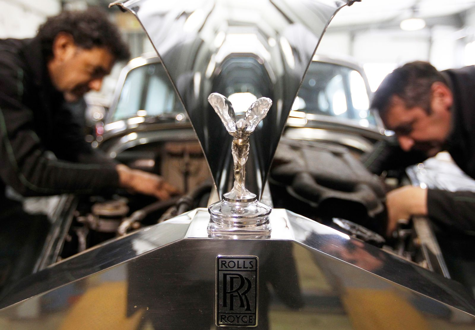 Rolls-Royce / Produktion