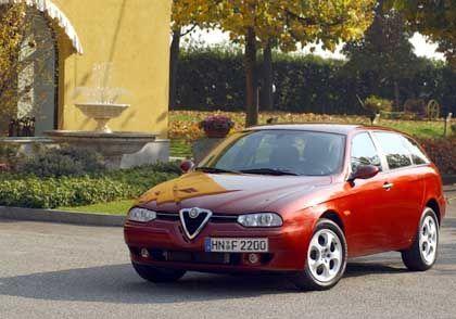 Alfa Romeo Sportwagon 1.9 JTD: Weltweit erster Multijet-Turbodiesel
