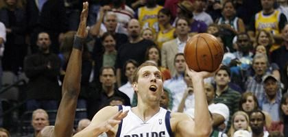 Dallas-Forward Nowitzki: Am Ende die Linie verloren