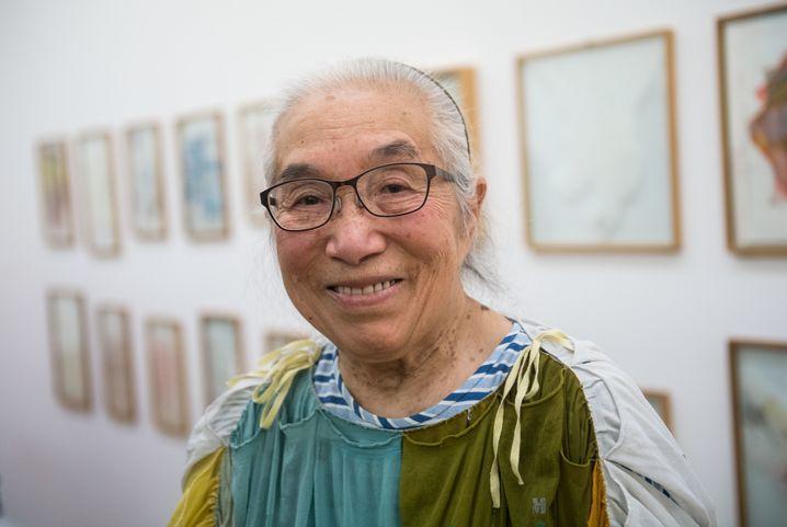 Takako Saito im Museum für Gegenwartskunst in Siegen