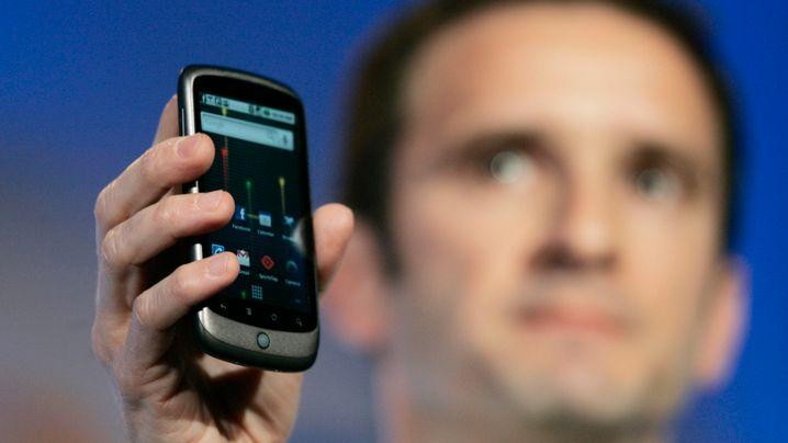 Googles erstes Handy: So sieht das Nexus One aus