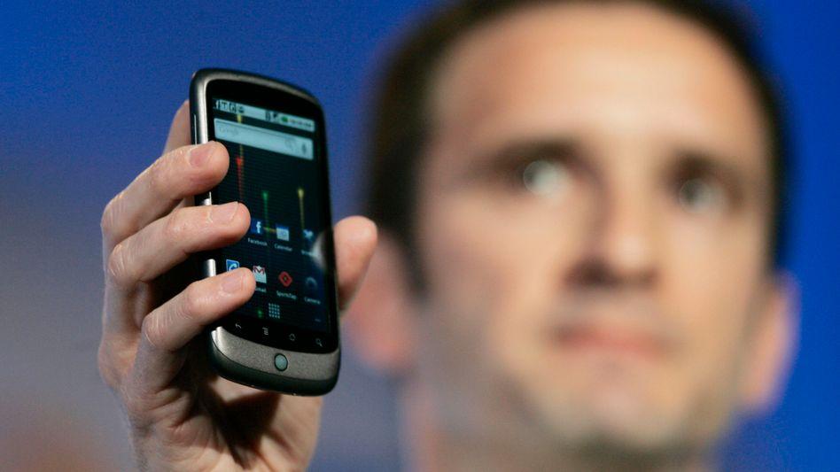 Nexus One: Google zeigt seinen iPhone-Herausforderer