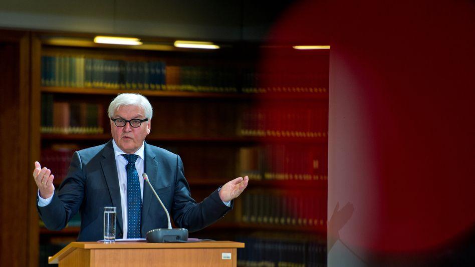 """Außenminister Steinmeier beim """"Cyber-Dialog"""": """"Lassen Sie uns nach vorn gehen"""""""