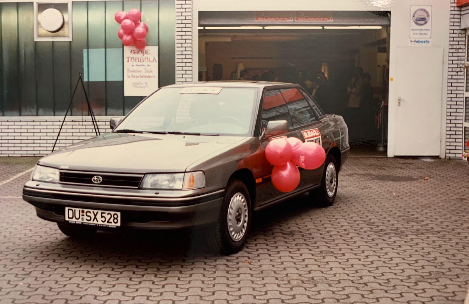 Oldtimer - Subaru Legacy