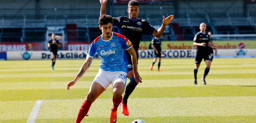 2. Liga: Bundesliga-Absteiger SC Paderborn patzt gegen Holstein Kiel