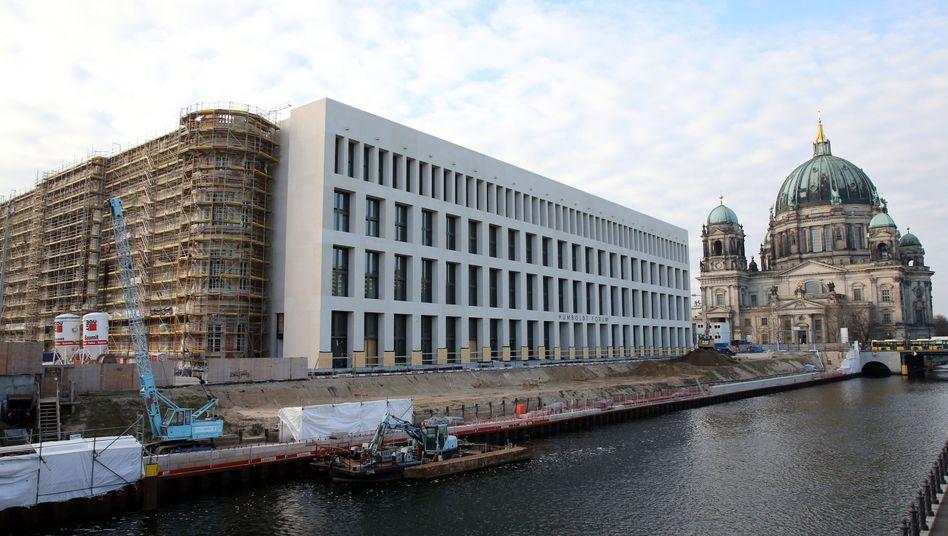 Die Fassade des Berliner Stadtschlosses, des Humboldt Forums.