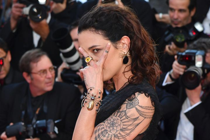 """Schauspielerin Asia Argento im Mai 2017 in Cannes: """"Die Mädchen sagen immer Nein"""""""