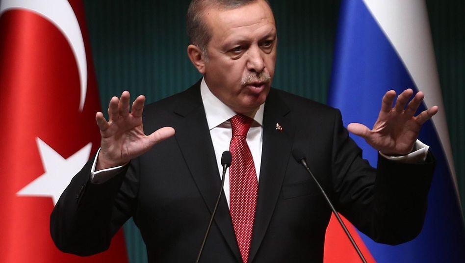 """Recep Tayyip Erdogan: """"Es herrscht ein großer Hass auf den Islam"""""""