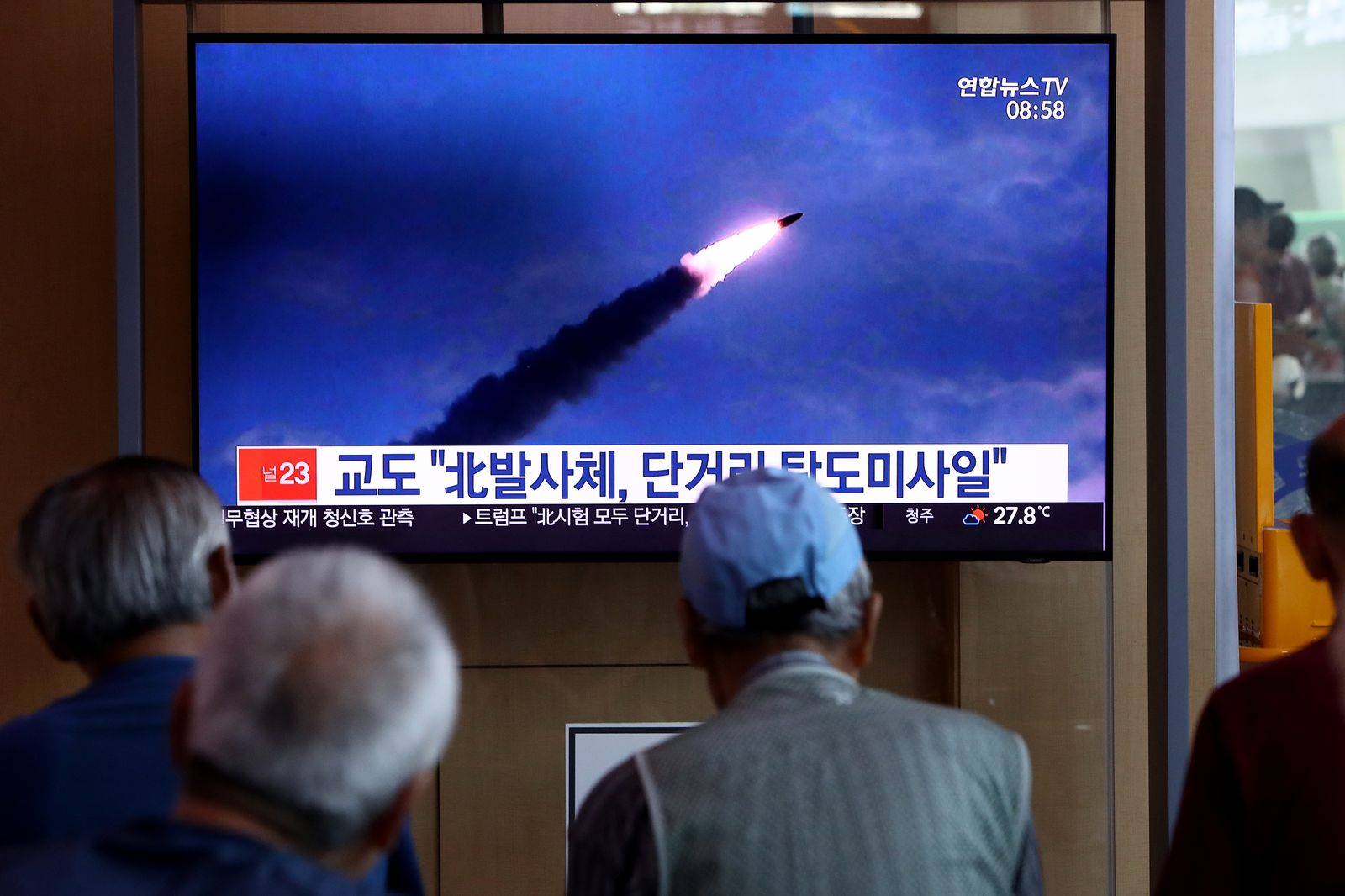 1167100136 Nordkorea Raketentests