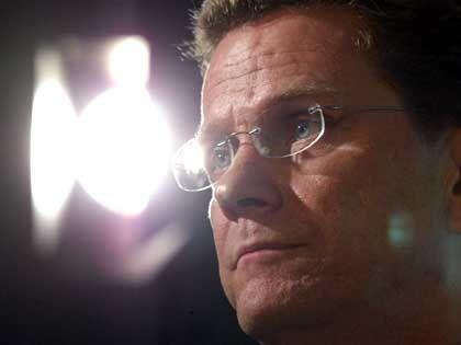 Guido Westerwelle: Rückendeckung vom Bundesvorstand