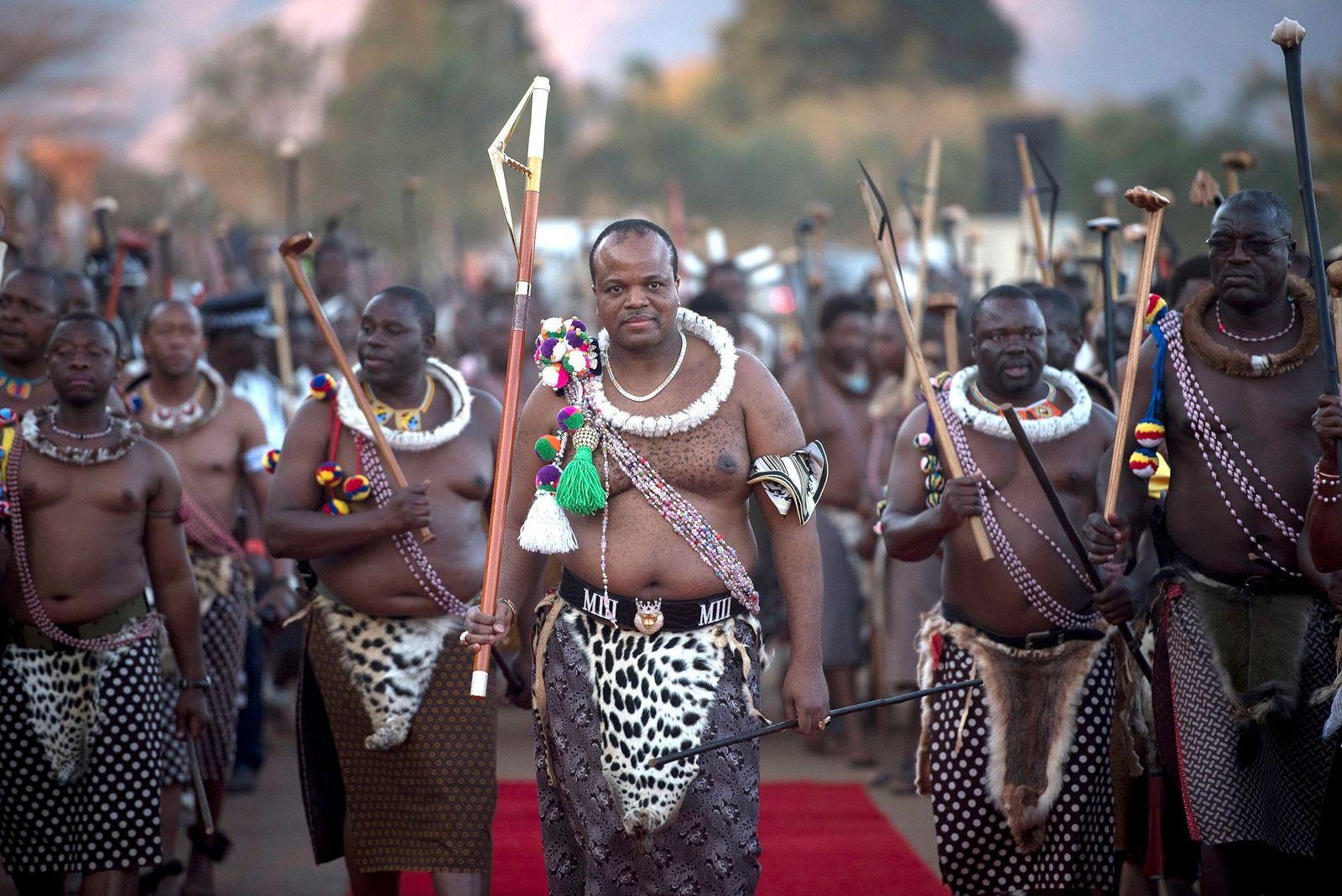 König Mswati III/ Swaziland