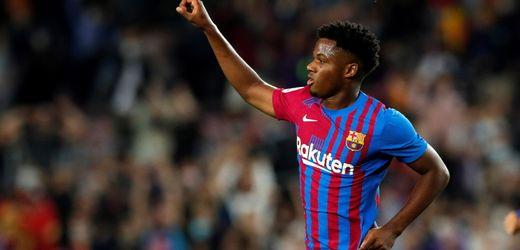 FC Barcelona stattet Ansu Fati mit Milliardenklausel aus
