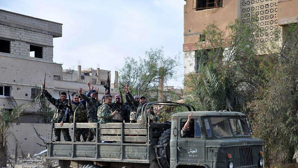 Fotostrecke: Sieg in Palmyra