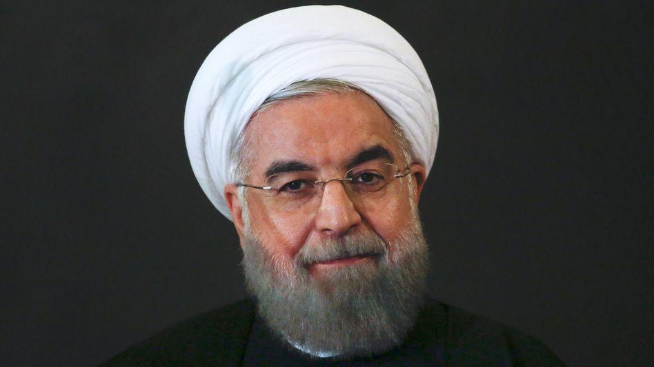 Irans Präsident Rohani: Auf Wirtschafts-Werbetour im Westen