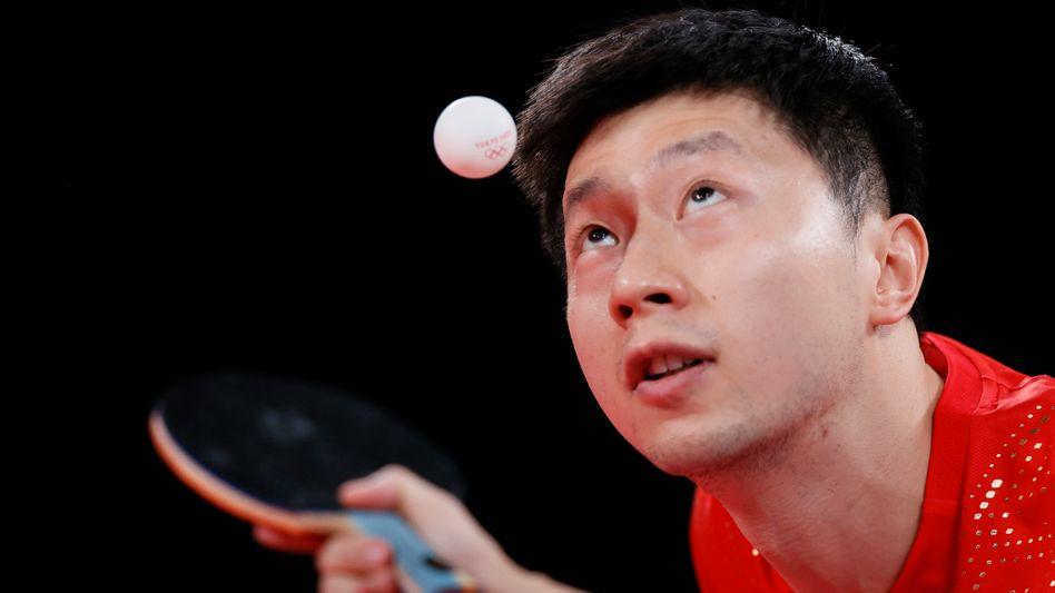 Chinas Tischtennis-Superstar Ma Long