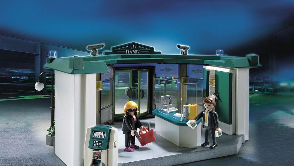 Playmobil-Bankräuberin: Ein Beitrag zur Emanzipation