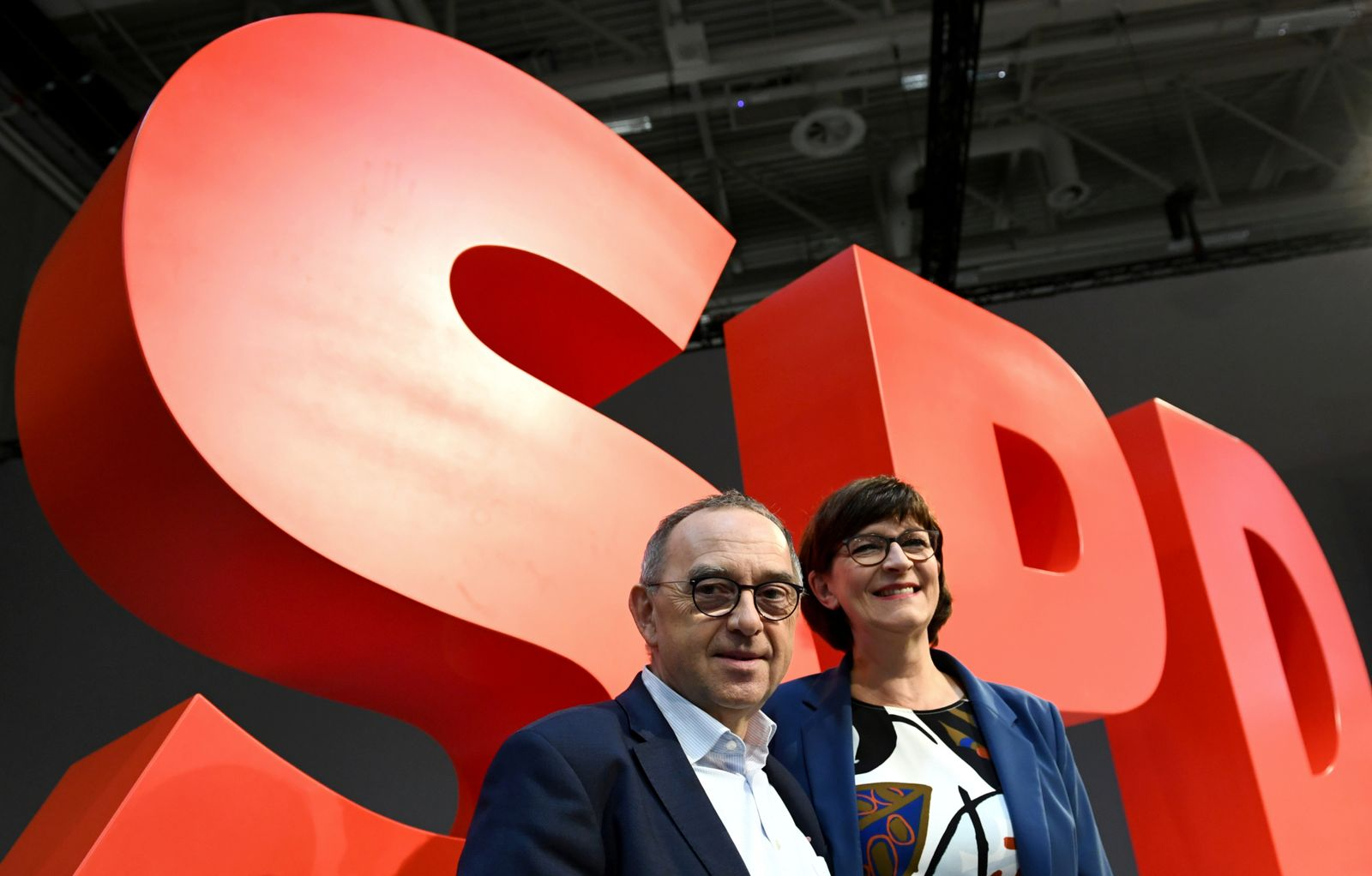 SPD / Norbert Walter-Borjans, Saskia Esken