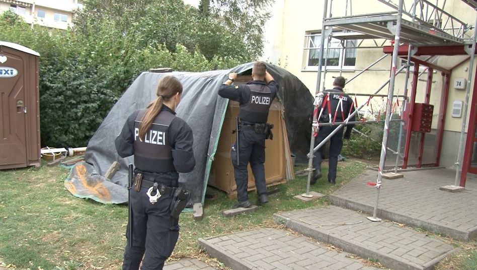 Polizeieinsatz in Magdeburg