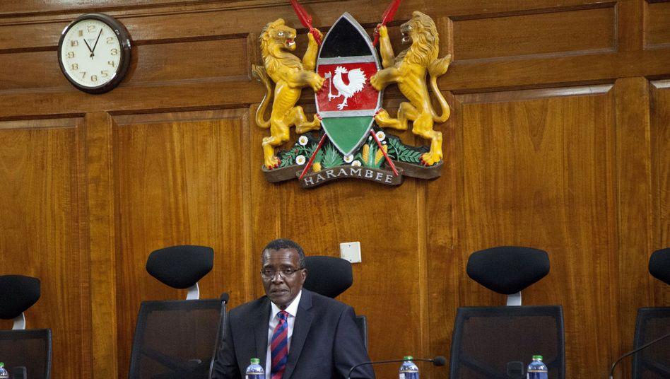 Vorsitzender Richter von Kenias Oberstem Gericht, David Maraga