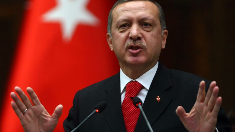 Turkish Prime Minister Recep Tayyip Erdogan is accusing German political foundations of helping the PKK.