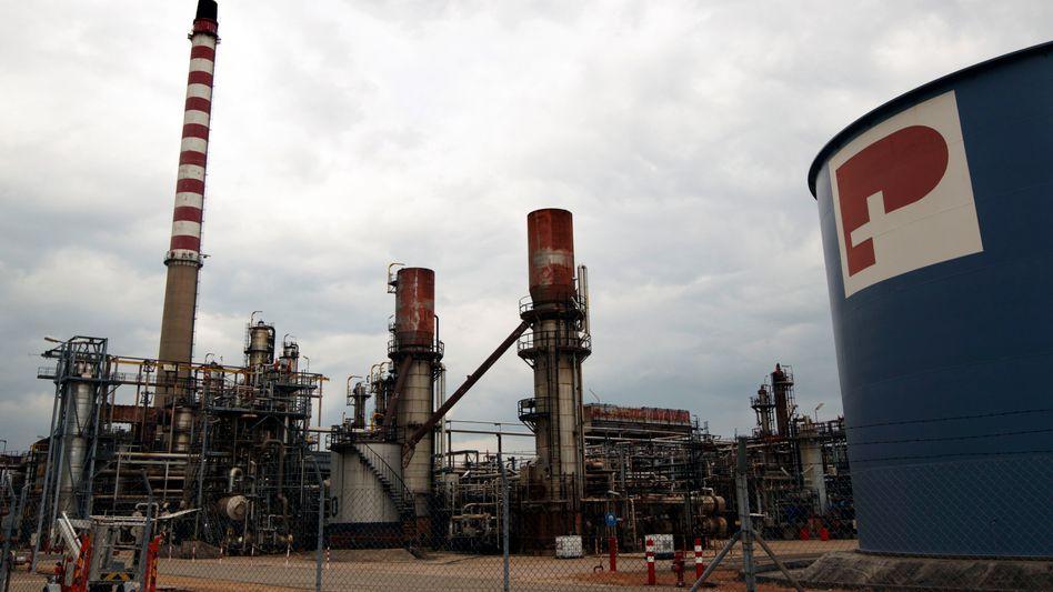 """Petroplus-Raffinerie im schweizerischen Cressier: """"Ernste Sache für unsere Firma"""""""