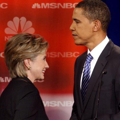 Bewerber Clinton und Obama: Der Weg ins Weiße Haus führt immer mehr über die Blogs