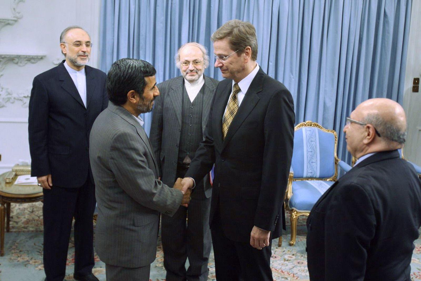 Westerwelle / Ahmadinedschad