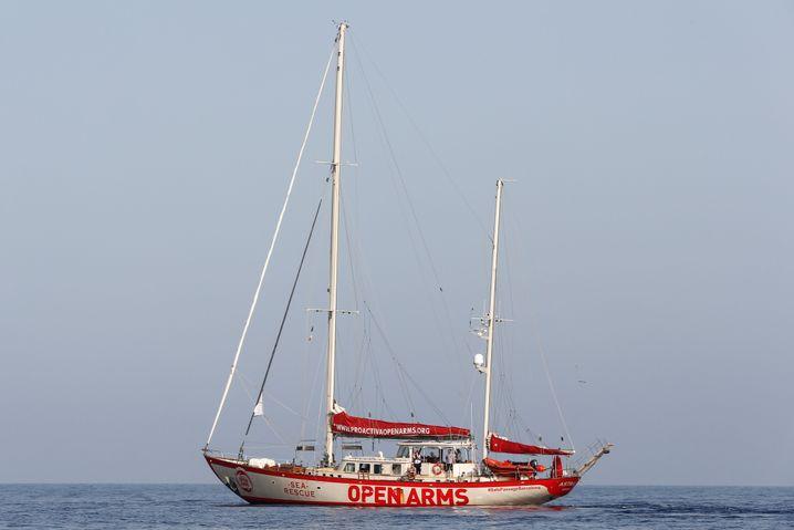 """Das Open-Arms-Schiff """"Astral"""""""