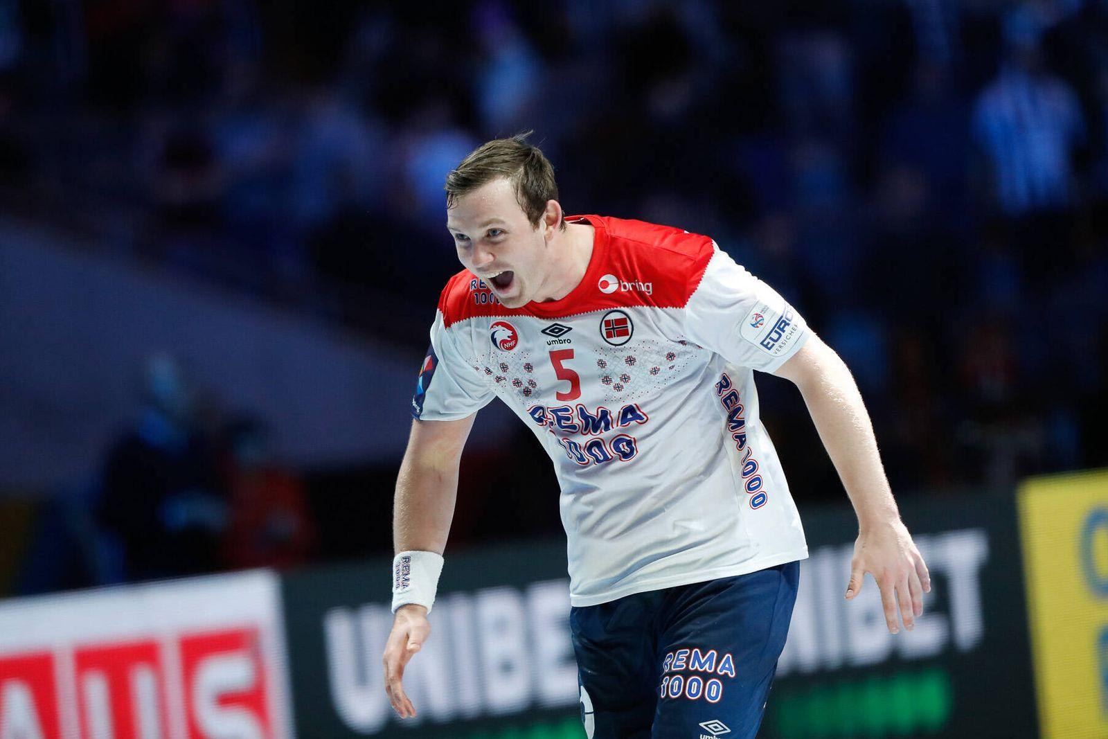 Sander Sagosen (Norvege) HANDBALL : norvege vs slovenie - ehf euro 2020 - finale 3-4 - 25/01/2020 BertrandDelhomme/Panor