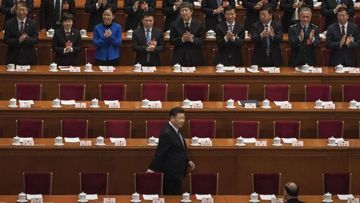 Abstimmung in China: Schaulaufen der Mächtigen