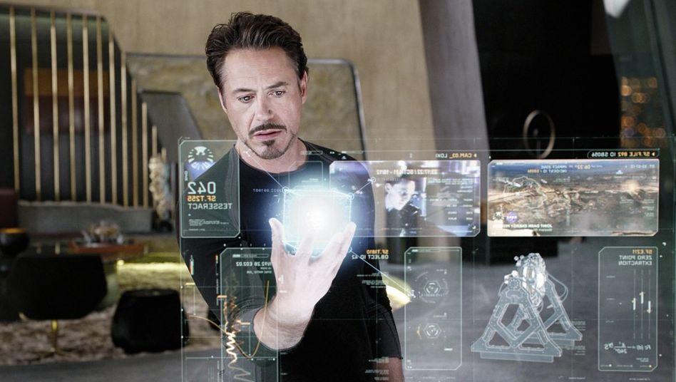 Hollywood-Star Downey Jr.(*): »Der Raum wird der Computer sein«