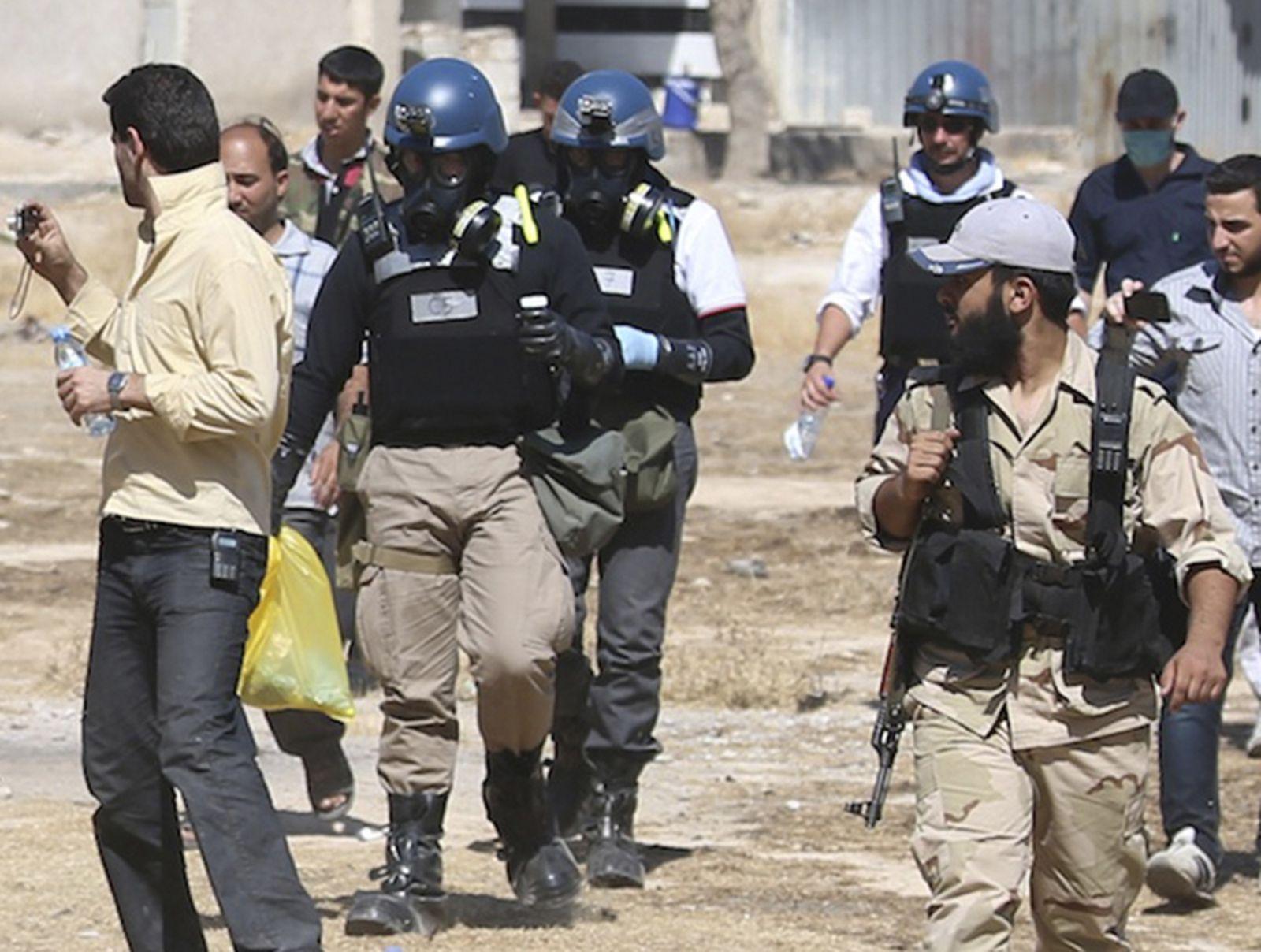 Damaskus/Syrien/Uno-Inspektoren